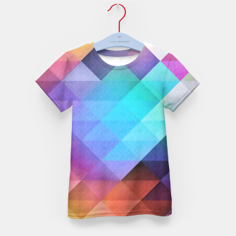 Thumbnail image of Pattern 12 Kid's T-shirt, Live Heroes
