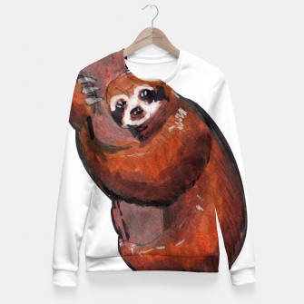 Thumbnail image of sloth Fitted Waist Sweater, Live Heroes