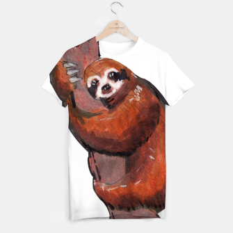 Thumbnail image of sloth T-shirt, Live Heroes