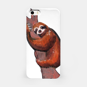 Thumbnail image of sloth iPhone Case, Live Heroes