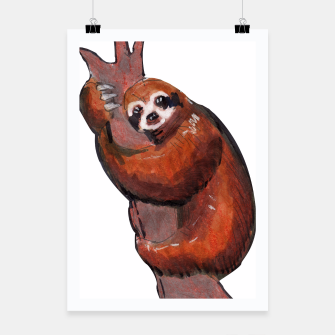 Thumbnail image of sloth Poster, Live Heroes