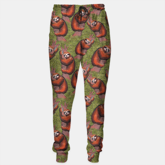 Thumbnail image of sloths pattern Sweatpants, Live Heroes