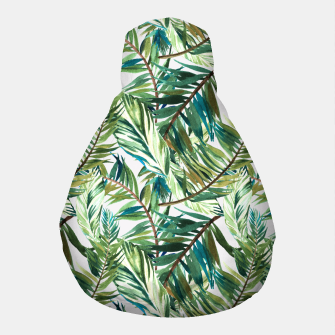 Thumbnail image of Leaf the jungle watercolor pattern Puf, Live Heroes