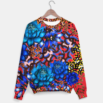 Thumbnail image of Bright floral Sweater, Live Heroes
