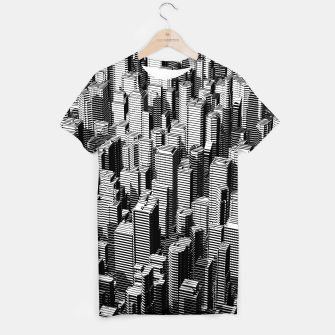 Thumbnail image of Urban Lines B&W T-shirt, Live Heroes