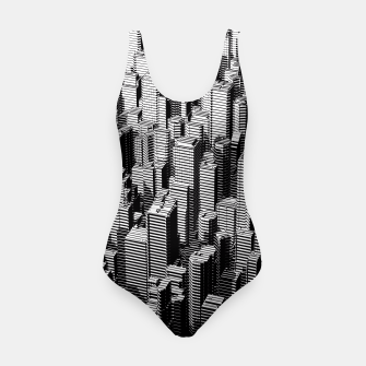 Thumbnail image of Urban Lines B&W Swimsuit, Live Heroes
