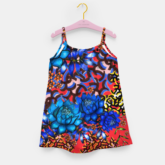 Thumbnail image of Bright floral Girl's Dress, Live Heroes