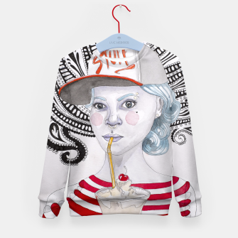 Thumbnail image of Stuff Kid's Sweater, Live Heroes