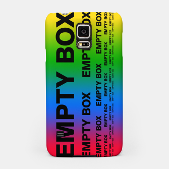 Thumbnail image of EMPTY BOX 2.0 Full Color Edition Samsung Case, Live Heroes