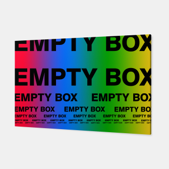 Thumbnail image of EMPTY BOX 2.0 Full Color Edition Canvas, Live Heroes
