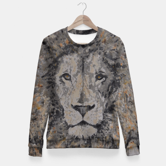 Thumbnail image of Lion Fitted Waist Sweater, Live Heroes