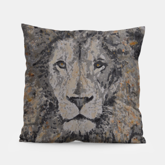 Thumbnail image of Lion Pillow, Live Heroes