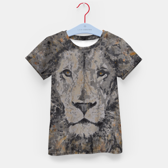 Thumbnail image of Lion Kid's T-shirt, Live Heroes
