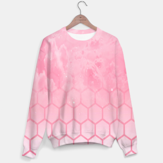 Thumbnail image of Pink clouds Sweater, Live Heroes