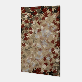 Thumbnail image of red leaf autumn Japanese Momiji Canvas, Live Heroes