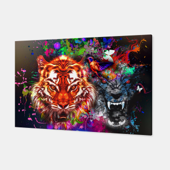 Thumbnail image of Lion 5 Canvas, Live Heroes