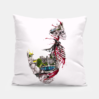 Thumbnail image of Legendary Skull Island Pillow, Live Heroes