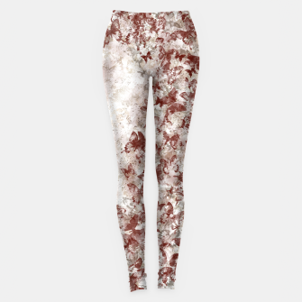 Thumbnail image of elegant butterfly red white gradation  Leggings, Live Heroes