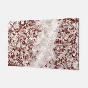 Thumbnail image of elegant butterfly red white gradation  Canvas, Live Heroes