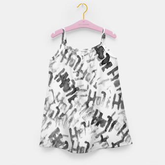 Miniatur H0le Girl's Dress, Live Heroes