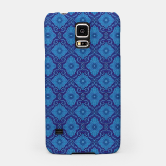 Thumbnail image of Blue Flowers, vintage floral pattern Samsung Case, Live Heroes