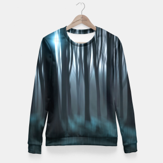 Thumbnail image of Dark Forest Taillierte Sweatshirt, Live Heroes