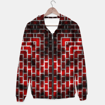 Thumbnail image of Smoked Fire Red Brick Hoodie, Live Heroes