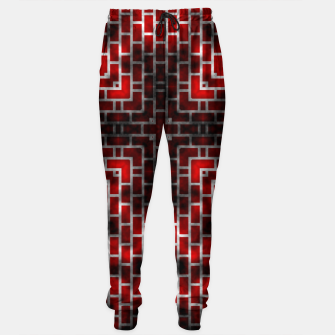 Thumbnail image of Smoked Fire Red Brick Sweatpants, Live Heroes