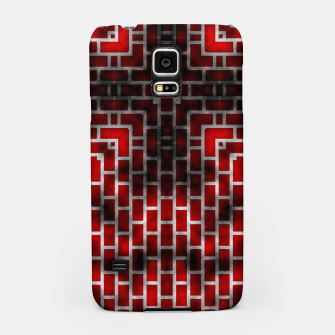 Thumbnail image of Smoked Fire Red Brick Samsung Case, Live Heroes