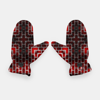 Thumbnail image of Smoked Fire Red Brick Gloves, Live Heroes