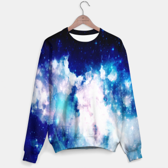 Thumbnail image of Blue galaxy Sweater, Live Heroes