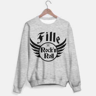 Thumbnail image of Fille Rock and roll Pull régulière, Live Heroes