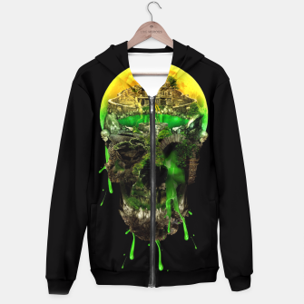 Thumbnail image of Haunted Skull Hoodie, Live Heroes
