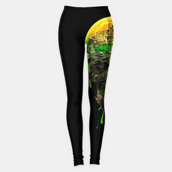Haunted Skull Leggings thumbnail image