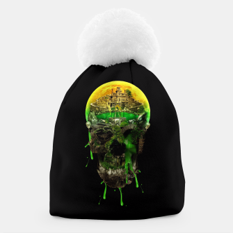 Thumbnail image of Haunted Skull Beanie, Live Heroes
