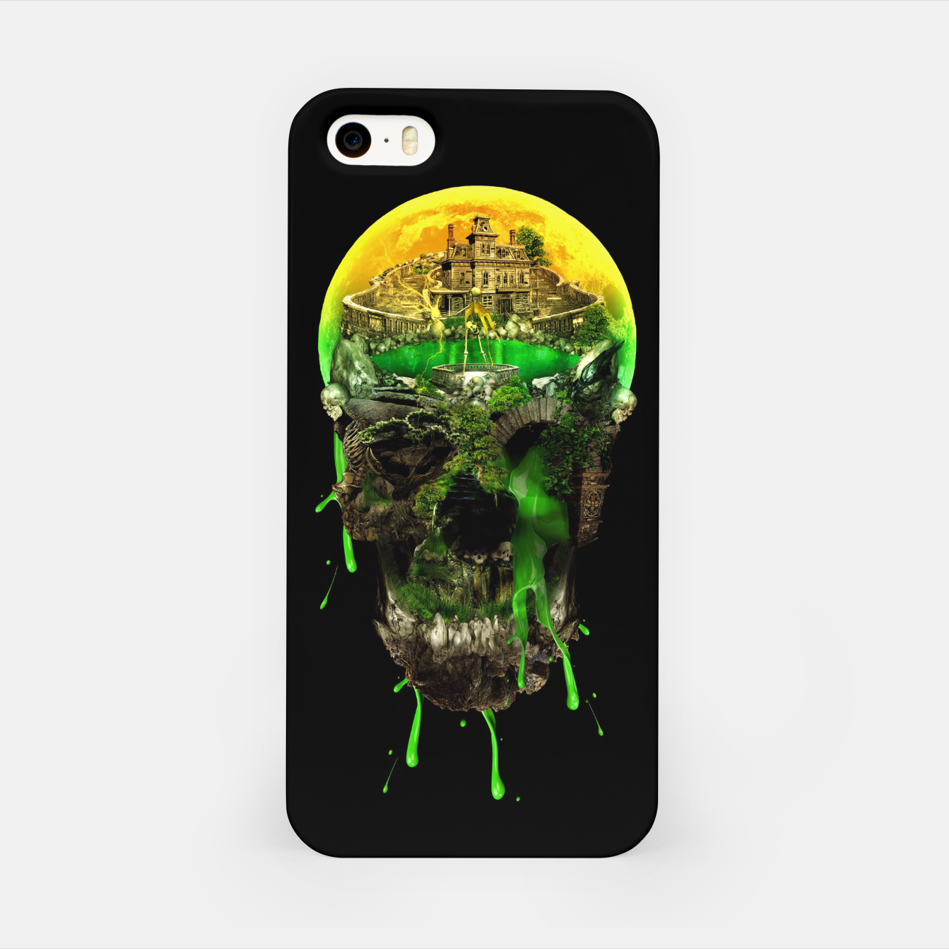 Image of Haunted Skull iPhone Case - Live Heroes