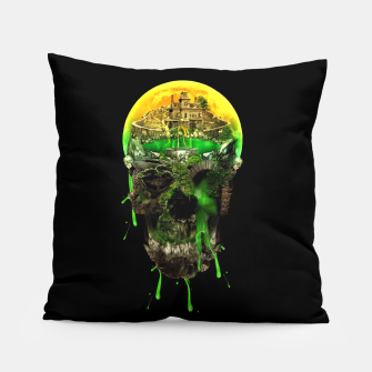 Thumbnail image of Haunted Skull Pillow, Live Heroes