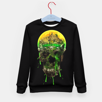 Thumbnail image of Haunted Skull Kid's Sweater, Live Heroes