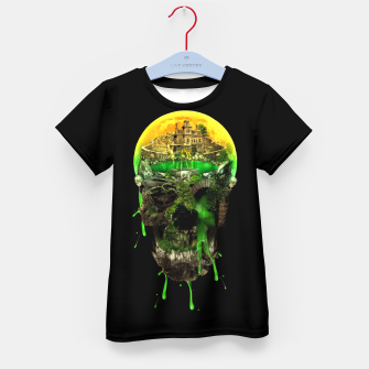 Thumbnail image of Haunted Skull Kid's T-shirt, Live Heroes