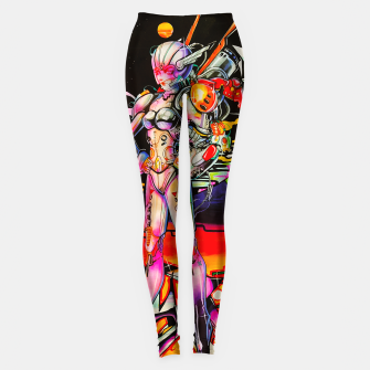 Miniatur PINBALL ANGEL Leggings, Live Heroes