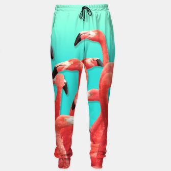 Thumbnail image of Rush Hour Flamingo Sweatpants, Live Heroes