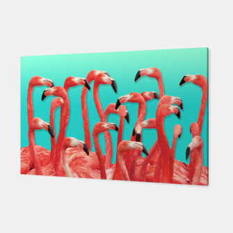 Miniaturka Rush Hour Flamingo Canvas, Live Heroes