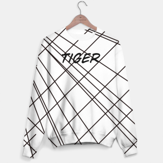 Thumbnail image of Tiger Lines Sweater, Live Heroes