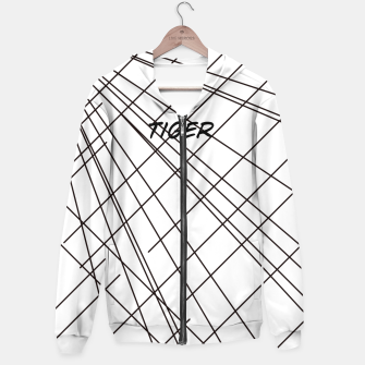 Thumbnail image of Tiger Lines Hoodie, Live Heroes