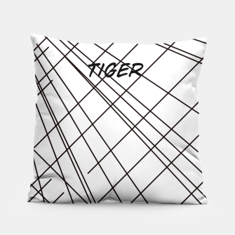 Thumbnail image of Tiger Lines Pillow, Live Heroes