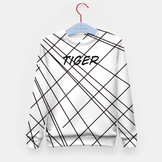 Thumbnail image of Tiger Lines Kid's Sweater, Live Heroes
