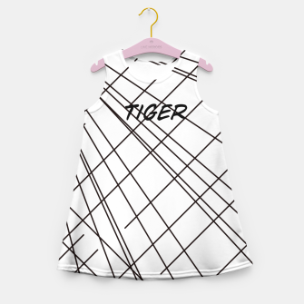 Thumbnail image of Tiger Lines Girl's Summer Dress, Live Heroes