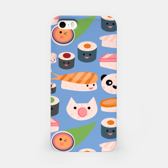 Thumbnail image of KAWAII sushi blue iPhone Case, Live Heroes