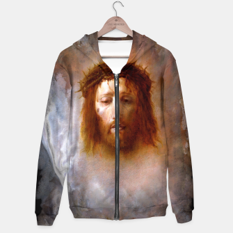 Thumbnail image of The Veil of Veronica Hoodie, Live Heroes