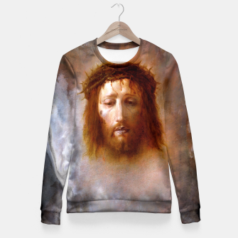 Thumbnail image of The Veil of Veronica Fitted Waist Sweater, Live Heroes